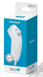 NINTENDO Wii U Ctrl Nunchuck Bianco game acc
