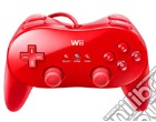 NINTENDO Wii Controller Cls Pro Rosso game acc