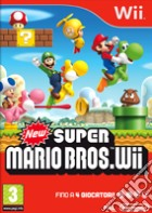 New Super Mario Bros WII game
