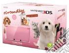 Nintendo 3DS Rosa Corallo+Nintendogs&Cat game acc