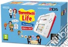 Nintendo 2DS Bianco+Rosso+Tomodachi Life game acc