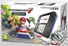 Nintendo 2DS HW Nero+Blu+ Mario Kart 7 game acc