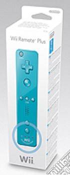 NINTENDO Wii Telecomando Wii Plus Blu game acc