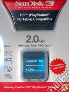 Sandisk Memory Stick Pro Duo Gaming 2GB game acc