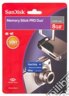 PSP SanDisk Memory Stick Pro Duo 8 Gb game acc
