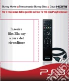 PS3 Sony Peripheral Pack Remote+Cavo game acc