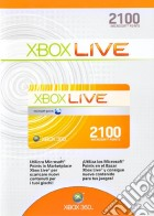 MICROSOFT X360 - Live 2100pt Card game acc