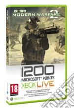 MICROSOFT X360 Live 1200 Point CODMW2 videogame di X360