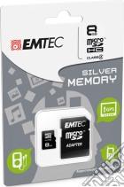 MicroSD + Adapter 8GB Silver (MP3-MP4) game acc