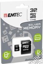 MicroSD + Adapter 32GB Silver (MP3-MP4) game acc