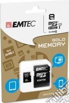 MicroSD + Adapter 8GB Gold(Smartph-Tab) game acc