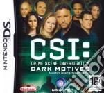 CSI 2: Dark Motives game