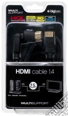 BB Cavo HDMI 1.4 2.5mt compatib. TV3d LX game acc