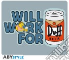 Mousepad Simpsons - Will Work for Duff game acc