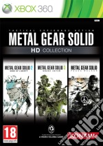 Metal Gear Solid HD Collection videogame di X360