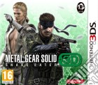 Metal Gear Solid Snake Eater 3D game