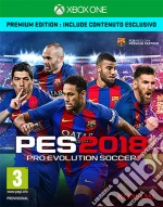 Pro Evolution Soccer 2018 Premium Ed. game
