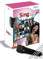 Sing 4 + microfono game
