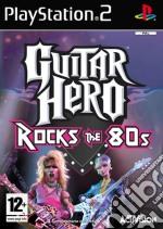 Guitar Hero Rock 80'S game