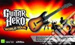 X360 Guitar Hero World Tour Stand.Guitar videogame di X360