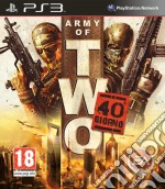 Army Of Two The 40th Day game
