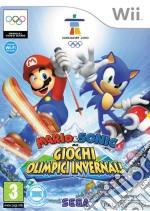 Mario & Sonic Ai Giochi Olimpici Invern. videogame di WII