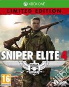 Sniper Elite 4 Limited Edition game