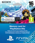 Memory Card 16GB PS Vita+Vouch.Modnation game acc