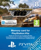 Memory Card 8GB PS Vita+Vouch.Motorstorm game acc