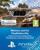 Memory Card 8GB PS Vita+Vouch.Motorstorm game acc