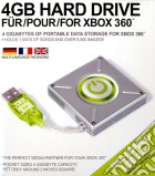 X360 Hard Drive 4 GB esterno DATEL game acc