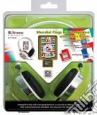 Cuffie audio + lettore MP3 Mundial Flag game acc
