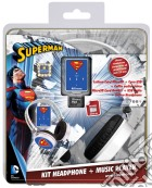 Cuffie Audio Superman + MP3 memory 8GB game acc