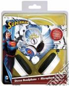 Cuffie Audio Superman + microfono game acc