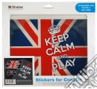 Stickers Keep Calm UK Flag PS3 Slim game acc