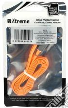 Cavo microUSB/Lightning Arancione game acc