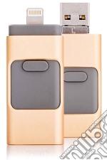 Flash Drive 3IN1 32GB oro
