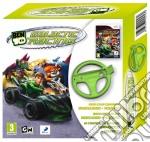 Ben 10 Galactic Racing + Volante videogame di WII