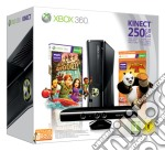 XBOX 360 250GB Kinect Holiday Value B. game acc
