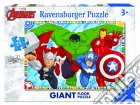 Ravensburger 05522 - Puzzle Gigante Da Pavimento 24 Pz - Avengers