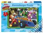 Ravensburger 05524 - Puzzle Gigante Da Pavimento 24 Pz - Topolino Roadster Racers