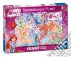 Ravensburger 05526 - Puzzle Gigante Da Pavimento 24 Pz - Winx Club - Nuova Trasformazione