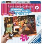 Ravensburger 05607 - Masha E Orso - Puzzle Di Plastica 12 Pz - Casa Dolce Casa