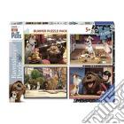 Ravensburger 06860 - Bumper Puzzle Pack 4x42 Pz - Pets - Vita Da Animali