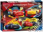 Ravensburger 06891 - Puzzle Gigante Da Pavimento 24 Pz - Cars 3 - 4 Puzzle Sagomati