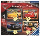 Ravensburger 06894 - Puzzle 4 In A Box - Cars 3