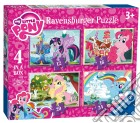 Ravensburger 06896 - Puzzle 4 In A Box - My Little Pony