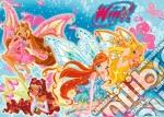 Puzzle 24 Pz Pavimento - Winx Club - Flora, Aisha E Bloom puzzle di RAVENSBURGER