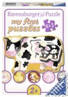 Ravensburger 07176 - My First Puzzle 6x2 Pz - Gli Animali E I Loro Cuccioli