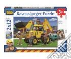 Ravensburger 07604 - Puzzle 2x12 Pz - Bob Aggiustatutto